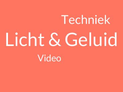 Techniek boeken, techniek, licht en geluid