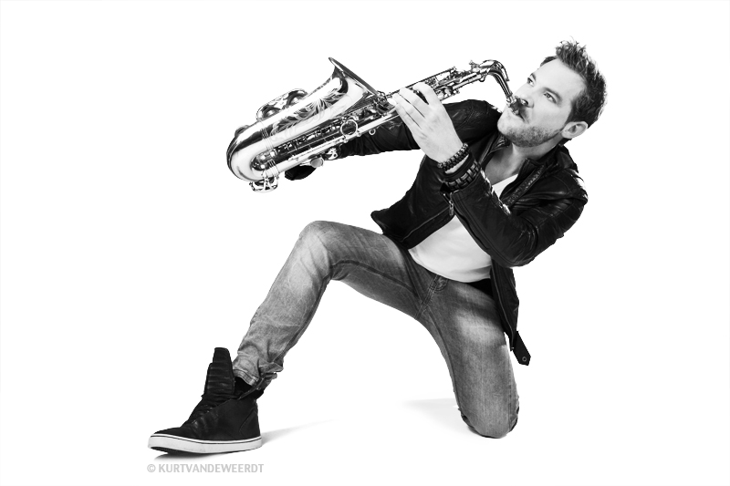 Bruiloft saxofonist